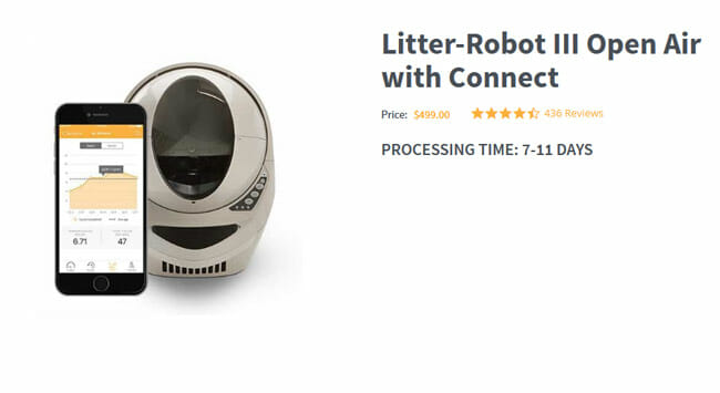 Litter Robot III Open Air price
