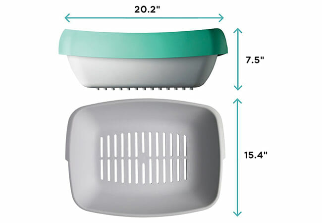Luuup design Dimensions