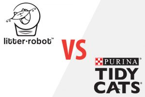 litter robot vs purina tidy cats
