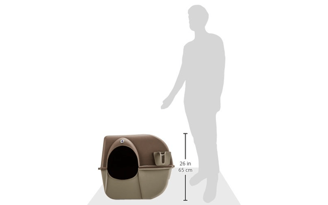Omega Paw Litter Box Design and Dimensions