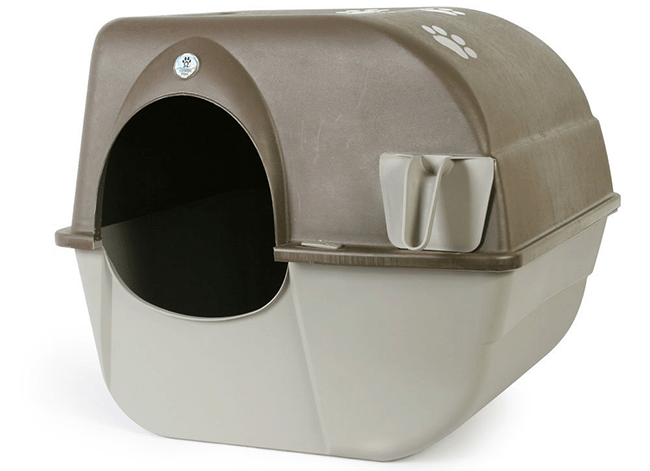 Omega Paw Litter Box homepage